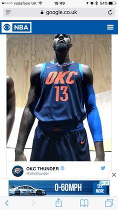 3ebfc5b403f My favourite new NBA jersey #nike #thunder Nike Nba Jerseys, Basketball  Uniforms,