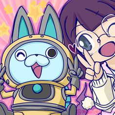 Yo-Kai Watch | USApyon and Inaho