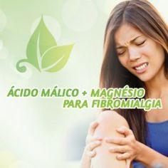 ÁCIDO MÁLICO na Fibromialgia (frasco com 90 doses)