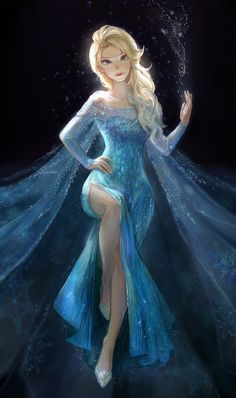 YOU GUYS IM GONNA BE ELSA FOR HALLOWEEN AND I GOT A DRESS AT  GOODWILL AND I HAVE LONG BLONDE HAIR AND BLUE EYES AND ITS GONNA BE AWESOME