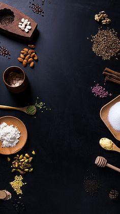 Device Pick Gold Decoration background Food Graphic Design, Food Menu Design, Food Poster Design, Restaurant Menu Design, Web Design, Layout Design, Food Background Wallpapers, Food Wallpaper, Food Backgrounds