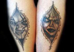 Tattoo-Foto: chucky
