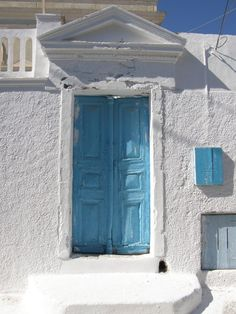 Blue Door at Emporio ,Santorini