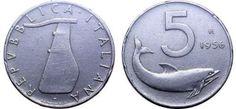 monete rare 5 lire del 1956