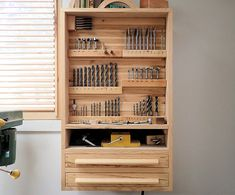 Drill Press Cabinet Plans for sale