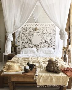 Below are the Moroccan Bedroom Decoration Ideas. This post about Moroccan Bedroom Decoration Ideas was posted under the Bedroom category by our team at March 2019 at am. Hope you enjoy it and don't forget to share this . Moroccan Inspired Bedroom, Design Marocain, Style Marocain, White Wood Paneling, Bohemian Bedroom Decor, Ethnic Bedroom, Moroccan Bedroom Decor, Trendy Bedroom, Modern Bedroom