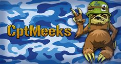 Finer Forms: CptMeeks (Twitch-avatar and banner for a friend)