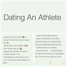 athletes dating athletes