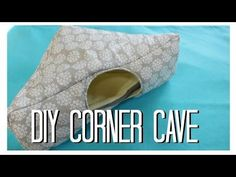 DIY: Guinea Pig Corner Cave/Hidey House - YouTube
