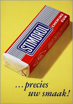 vintage Dutch advertising poster for Stimorol chewing gum Old Posters, Vintage Posters, My Childhood Memories, Sweet Memories, Memories Box, Retro Advertising, Vintage Advertisements, Pub Vintage, Nostalgia
