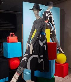 """MAXMARA, London, Italy, """"One creates oneself"""", quote/inspired by Grace Jones, creative by Chameleon Visual, mannequins by Bonaveri Italy, pinned by Ton van der Veer"""
