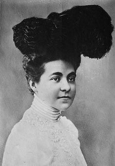 Princess Hermine of Reuss, the second wife of Wilhelm II.