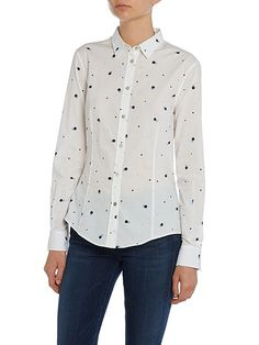 Spotted shirt