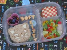 Bento for Kidlet: Big Bang Theory: Soft Kitty #EasyLunchBoxes