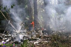 UNAIENSES: AMAZONAS - Aeronave cai em área de floresta e deix...
