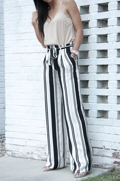Fancy Pants | Wide leg pants | Olivia Palermo | Chelsea28 | #shopstyleFW