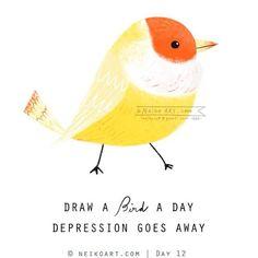 Bird Doodle, Zen Doodle, Arts And Crafts Projects, Fun Crafts, Santa Claus Drawing, Bird Artists, Applique Fabric, Bird Tree, Doodle Sketch