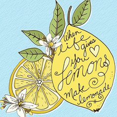 Having fun creating some custom note card designs with my Lemon clipart!