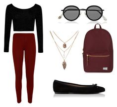 Untitled #1 by aseret-diaz-tamayo on Polyvore featuring polyvore fashion style Boohoo WearAll Herschel Supply Co. Acne Studios