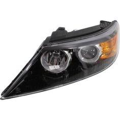 2011-2013 Kia Sorento Head Light LH, Assembly, Halogen
