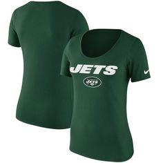 New York Jets Nike Women s Lockup T-Shirt - Green d120520c7