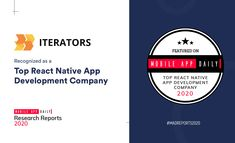 Iterators' is a leading player in the React Native domain. The company's mission is to bring a vision to life through technology and with this perspective, Iterator has successfully catered to startups and established businesses. From user research to UX/UI design, and from scalable backend solutions to machine learning, the React Native app development company covers it all. React Native, App Development Companies, Ui Ux Design, Machine Learning, Startups, Research, Mobile App, Catering, Perspective