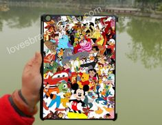 Disney Character Collage,Disney iPad Air Case,iPad Mini case,iPad 2 case,iPad 5,case,ipad 3 case,ipad 4 case,New iPad case,iPad cover-006 on Wanelo