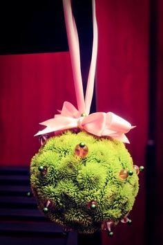 Flower balls for flower girls!
