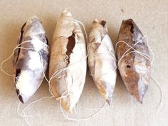 Ann Symes. Cocoons from rusted paper