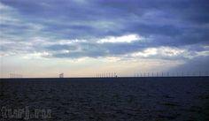 Дания, Ветряная электростанция Нествед, Дания Нествед, Дания фото, ветреные электростанции, достопримечательности Дании, ветряные электростанции, фотографии Дании, N?stved, города Дании, крупнейшие ветряные электростанции мира