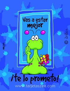 animo Get Well Funny, Get Well Wishes, Funny Emoji, Get Well Soon, Get Well Cards, Love You, My Love, Love Notes, Spanish Quotes