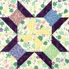 Spinning Spools Quilt Block---this block would look great in a wall hanging in the sewing room or lap quilt on the chair for hand sewing!!!  How about making it a wall clock.  Mount it on a framed canvas and buy the clock works from the craft store.  I think I'll give it a try.