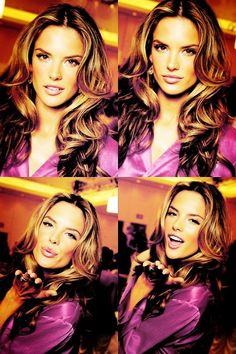 Alessandra Ambrosio. Share some pretty with the rest of the world!