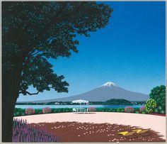 永井博さんの書き下ろしイラストレーション完成!そして、電車利用の方にビックリなお知らせ! | DUM-DUM PARTY '2012 -夏の黄金比-