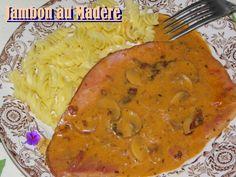 Jambon sauce Madère