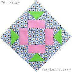 verykerryberry: Farmer's Wife Quilt Along: Blocks 75 & 76, Nan and Nancy
