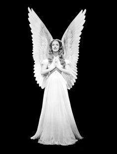 Jeanette MacDonald - with wings - in I Married an Angel (W.S. Van Dyke, 1942), her last picture with Nelson Eddy