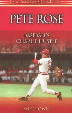 Pete Rose: Baseball's Charlie Hustle (Paperback) by Precision Series American Games, American Sports, Baseball Tips, Baseball Pitching, Baseball Stuff, Basketball, Baseball Cards, Cincinnati Reds Baseball, Pete Rose