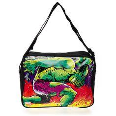 Marvel Comics The Incredible Hulk Messenger Bag (Multi-Coloured)