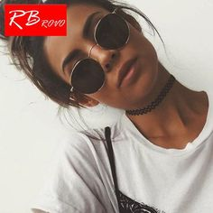 7e701bbdd83 RBROVO 2019 Vintage Oval Classic Sunglasses Women Men HD Eyeglasses Street  Beat Shopping Mirror  Discounts  BestPrice