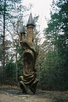Hill of witches, neringa, lithuania