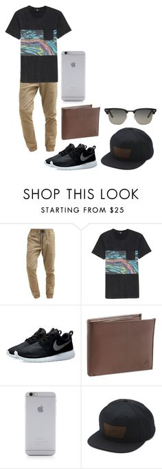 """""""Mens Casual"""" by mmd32 ❤ liked on Polyvore featuring Billabong, Volcom, NIKE, Lauren Ralph Lauren, Native Union, Vans, Ray-Ban, mens, men and men's wear"""