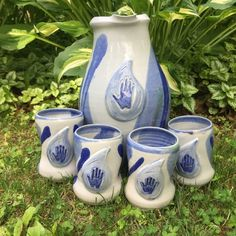 UNIQUE HANDCRAFTED WATER THEMED STONEWARE #charityauction #dogood #bidforcharity Jun, Stoneware, Best Gifts, Take That, Gift Ideas, Water, Unique, Cards, Gripe Water