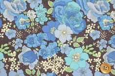 Liberty Print Tanallone 489 (Amelie 's Rose & Garden Ameries Rose & Garden)