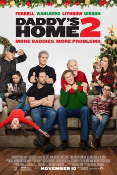 'Tis the season for merriment & mayhem! #DaddysHome2 is in theatres November 10. Get tickets now!