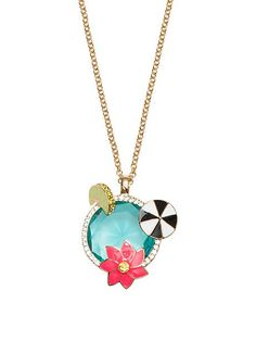 out of office cocktail pendant - Kate Spade New York