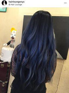 20 Dark Blue Hairstyles That Will Brighten Up Your Look In 2019