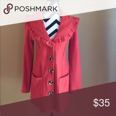 Coat ***HOST PICK FOR STYLE OBSESSIONS PARTY***    Excellent condition, very lightweight Luii Jackets & Coats