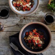 Anna Jones' Favorite Lentils with Roasted Tomatoes & Horseradish