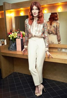 Florence Welch stylish